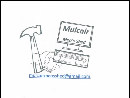 MULCAIR MEN'S SHED  church gate collection