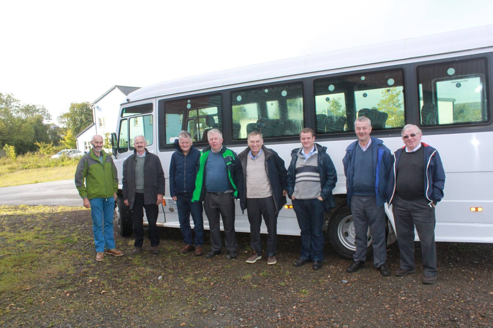 Mulcair Men's Shed visit to Cloughjordan