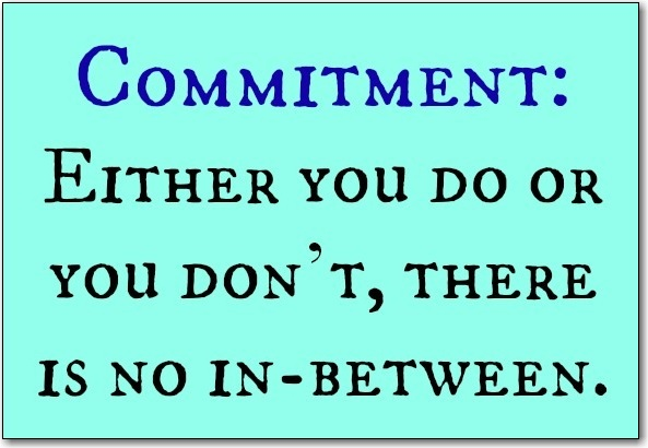 Thought for the Week – Commitment