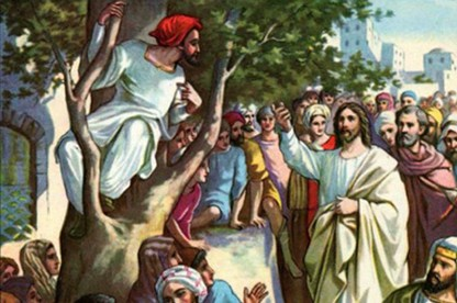 Thought For The Week – Zacchaeus, that man of small stature in the Gospel story