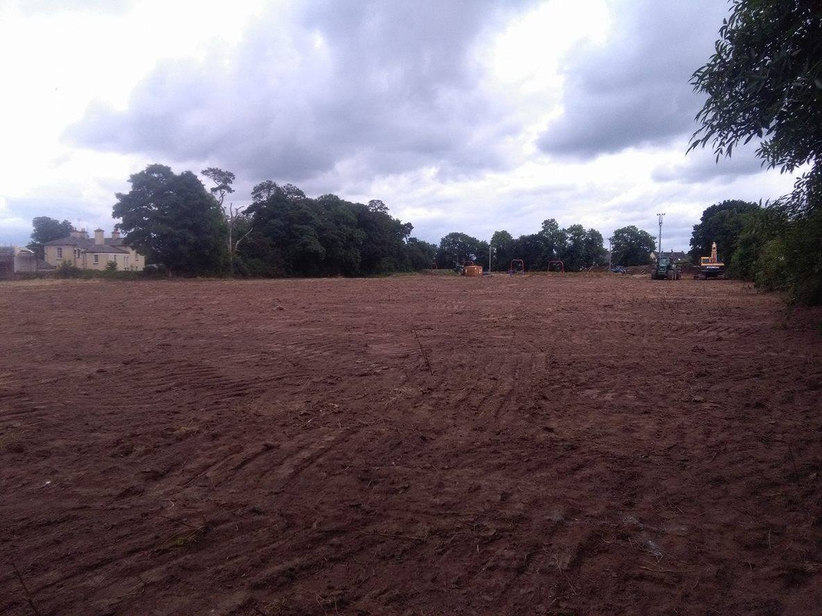 Field Project Update: Construction Begins