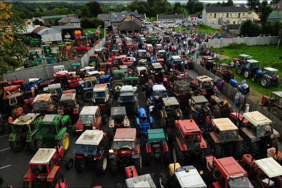 Murroe Vintage Tractor Run Sunday 22nd Sept 2019